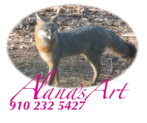 """Foxy Mama"" by Alana Solomon. Copyright 2012. All Rights Reserved. Call Alana for prints: USA 910 232 5427. Email: whatfaux@aol.com"