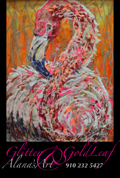 """Punk Flamenco"" painted by Alana Solomon. Copyright 2012. All Rights Reserved. Call Alana for Prints or Original: USA 910 232 5427. Email: whatfaux@aol.com"