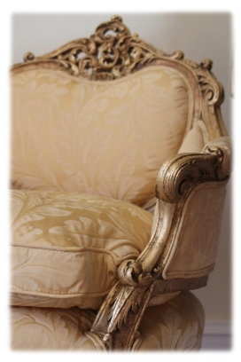 Gold Leaf Chair