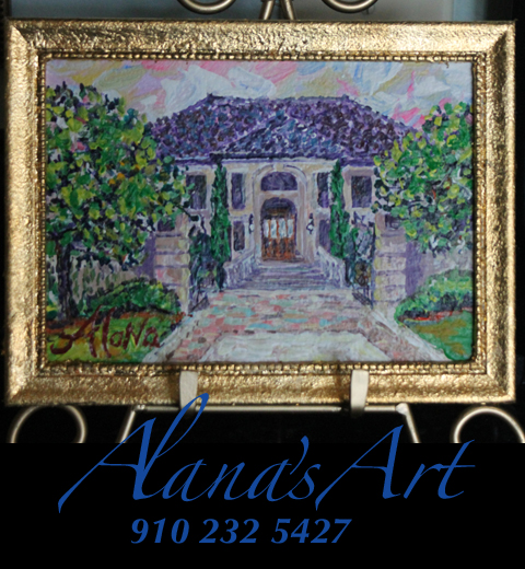 """""""Kenan Mansion—Just a little beach house..."""" by Alana Solomon. Copyright 2012. All Rights Reserved. Call Alana for Prints: USA 910 232 5427. Email: whatfaux@aol.com"""