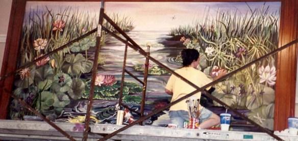 Faux painting, murals, artwork, North Carolina. Alana's Art  910 232 5527 Whatfaux@aol.com